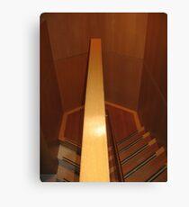 Hexagonal Stairway Canvas Print
