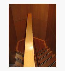 Hexagonal Stairway Photographic Print