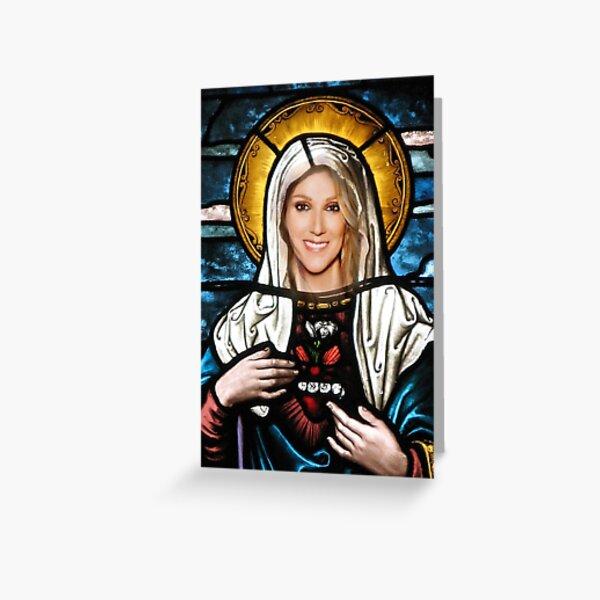Saint Celine Greeting Card