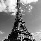 eiffel tower by youngkinderhook