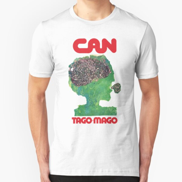 Can Tago Mago Green  Slim Fit T-Shirt