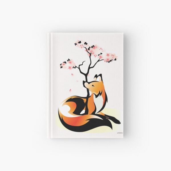 Sakura Kitsune Hardcover Journal