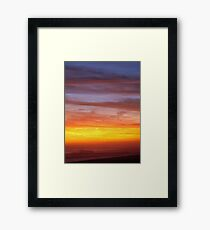 Another Ida Sunset Framed Print