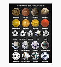 The World Cup Balls Photographic Print