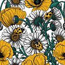 The meadow in yellow by Katerina Kirilova