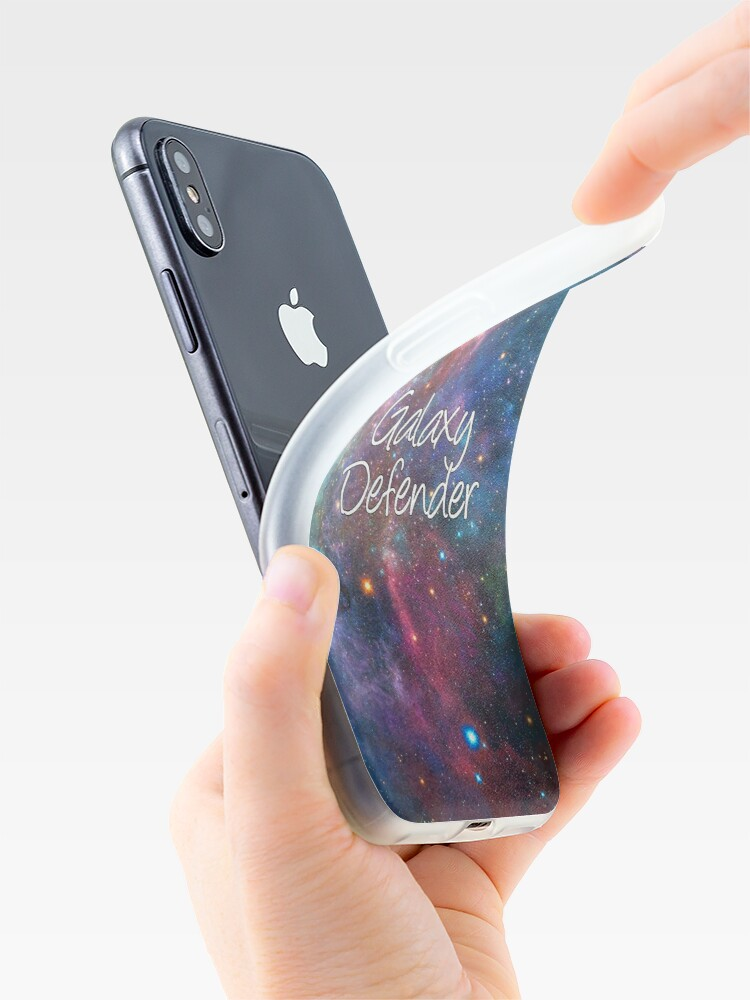 Alternate view of Galaxy Defender iPhone Case & Cover