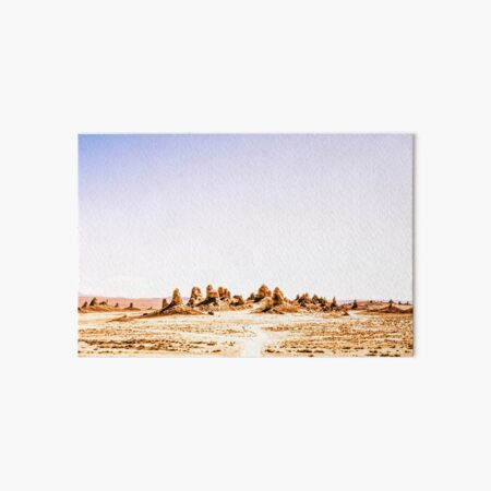 Mystery Planet - Trona Pinnacles Tufa Spires California Art Board Print