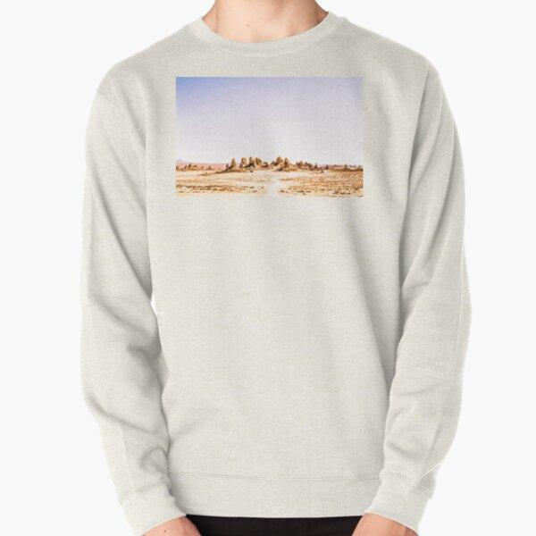Mystery Planet - Trona Pinnacles Tufa Spires California Pullover Sweatshirt