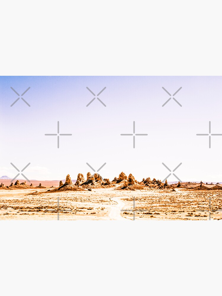 Mystery Planet - Trona Pinnacles Tufa Spires California by neptuneimages
