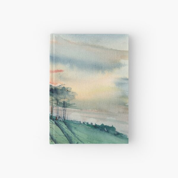Chasing the sunset Hardcover Journal