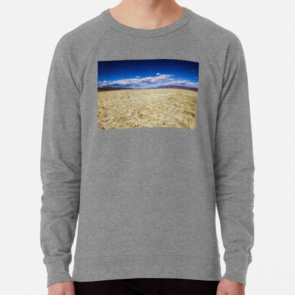 Trona Desert Landscape in California Lightweight Sweatshirt
