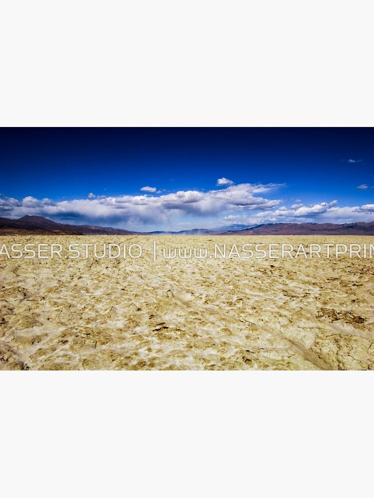 Trona Desert Landscape in California by neptuneimages