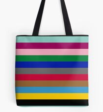 Colours of The London Underground Tote Bag