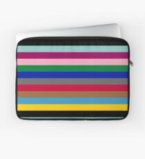 Colours of The London Underground Laptop Sleeve