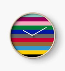 Colours of The London Underground Clock