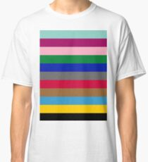 Colours of The London Underground Classic T-Shirt