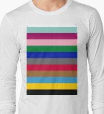 Colours of The London Underground Long Sleeve T-Shirt