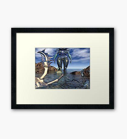 ARRIVAL Framed Print