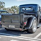 Black Hot Rod Utility rear at Coffee n Classics by Ferenghi