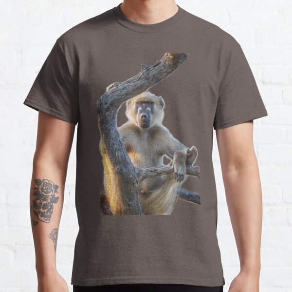 Too Laid Back – Adult Male Baboon Classic T-Shirt