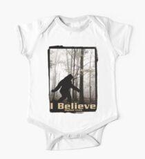 I Believe Bigfoot Lives Kids Clothes