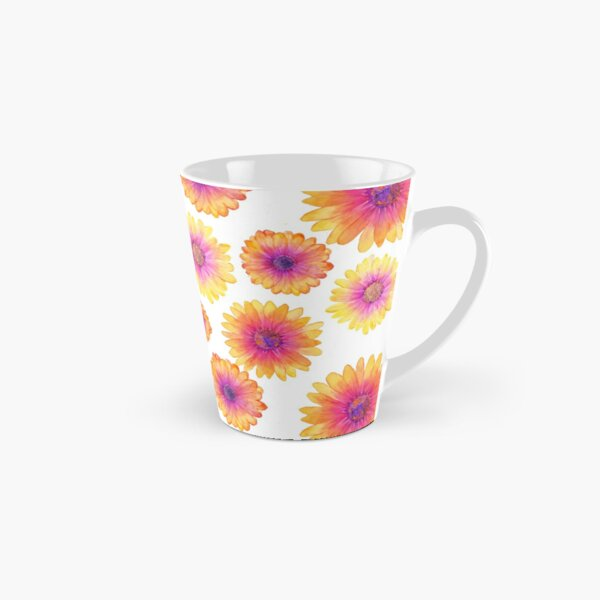 African Daisy Watercolour Tall Mug