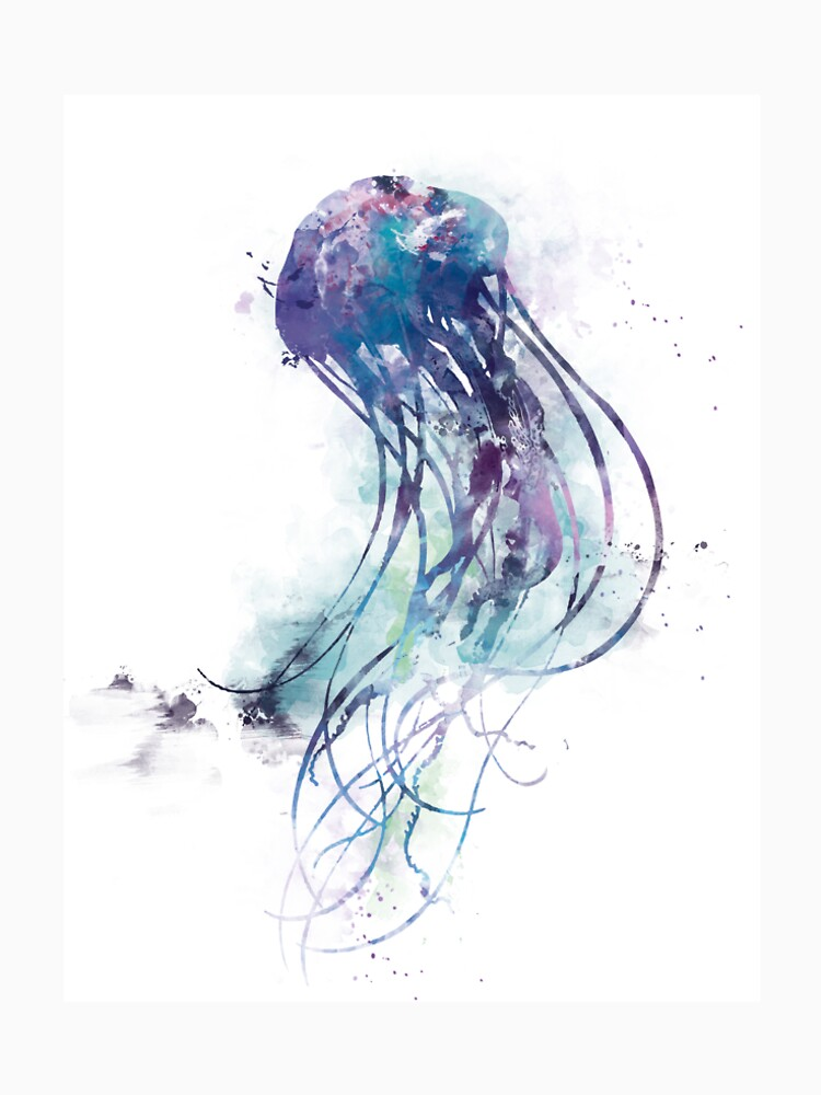 Jellyfish by MonnPrint