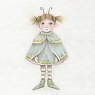 Cute little fairy moth girl  by trudette