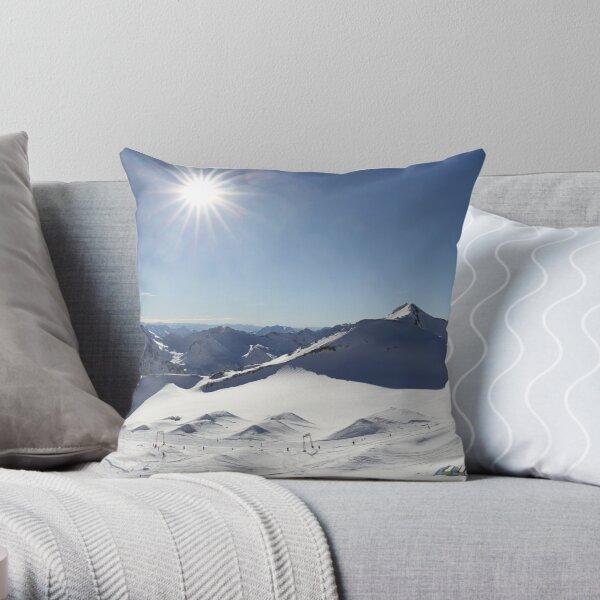 Stubai Gletscher Panorama Dekokissen