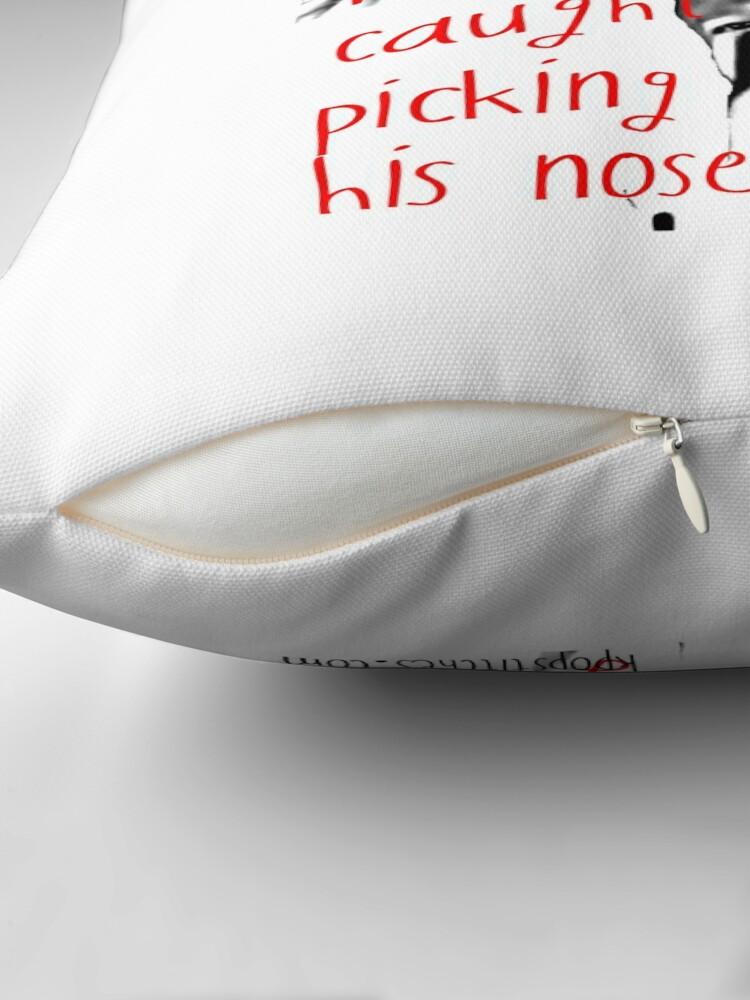 Alternate view of Block B Park Kyung picking his nose AGAIN! Floor Pillow