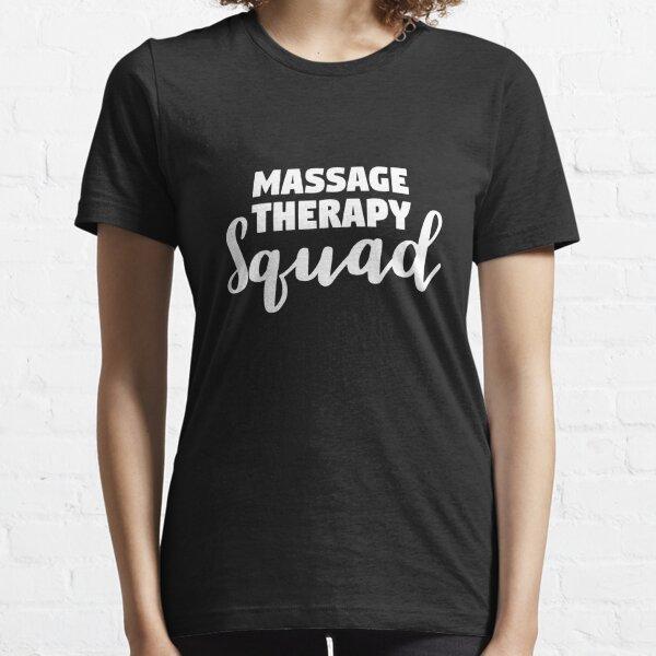 Cadeau de chemise de pierres chaudes spa de massage bien-être spa T-shirt essentiel