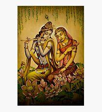 The nectar of Krishnas flute Photographic Print