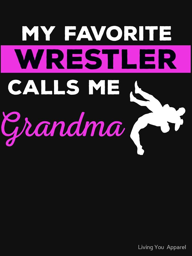 Funny Wrestling Grandma Tshirt Gift by mikevdv2001