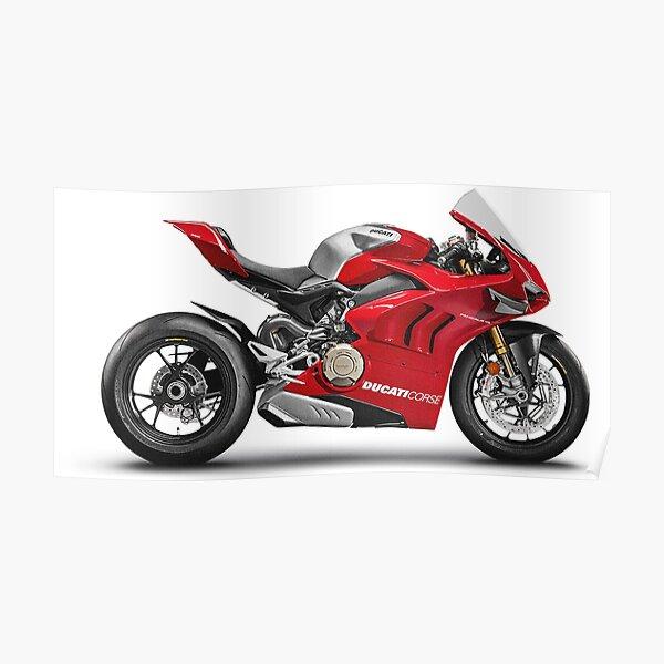 Ducati Paginale V4 R Poster