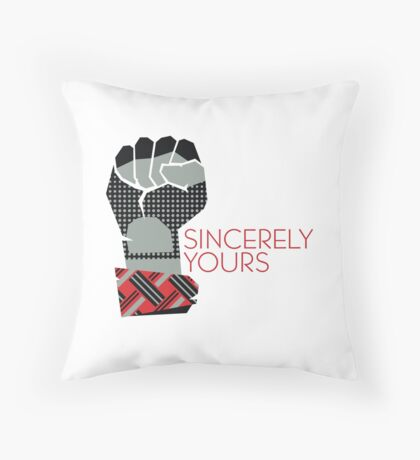 Sincerely Yours, The Breakfast Club Throw Pillow