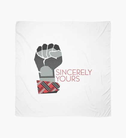 Sincerely Yours, The Breakfast Club Scarf