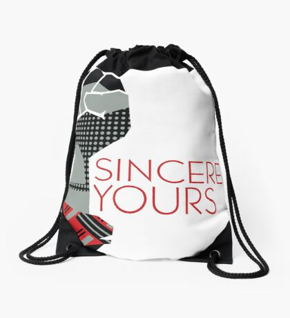 Sincerely Yours, The Breakfast Club Drawstring Bag