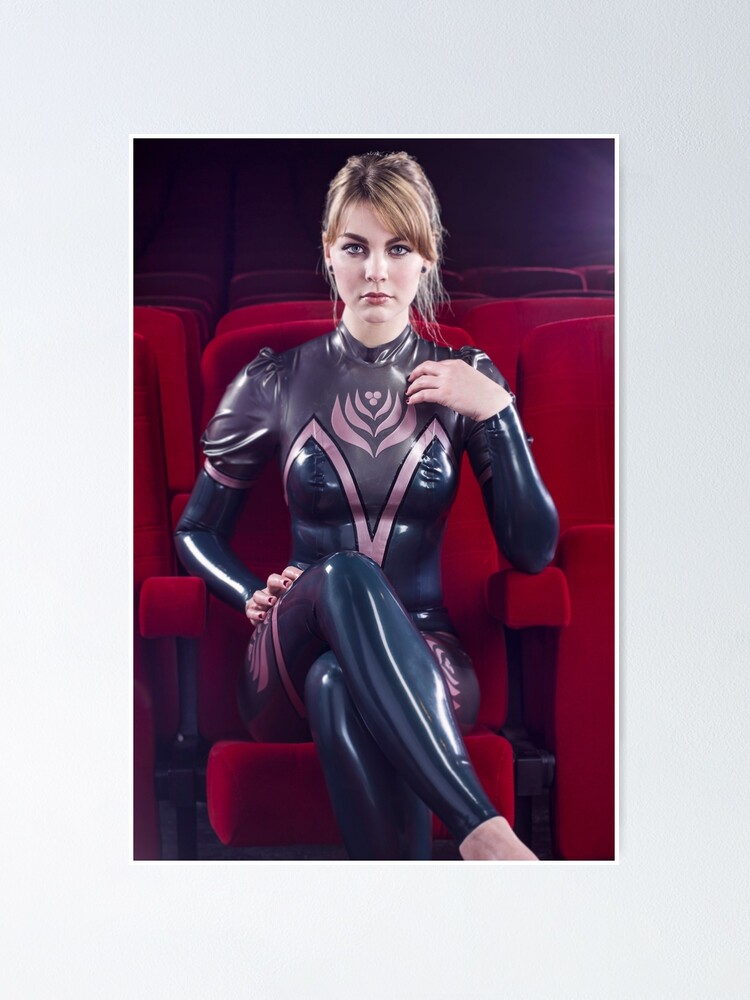 Girl latex catsuit latex catsuits