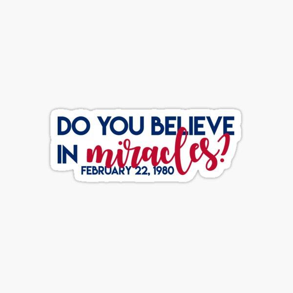 Croire aux miracles? Sticker