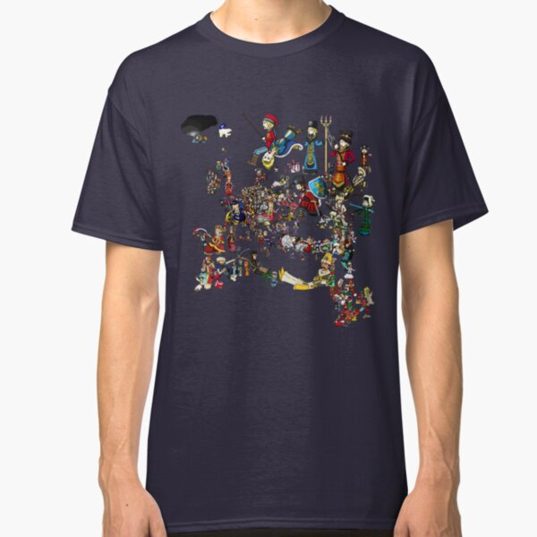 EUROPA UNIVERSALIS - National Personifications Map - 1444 Classic T-Shirt