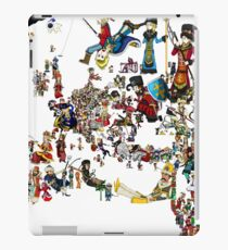 EUROPA UNIVERSALIS - National Personifications Map - 1444 iPad Case/Skin