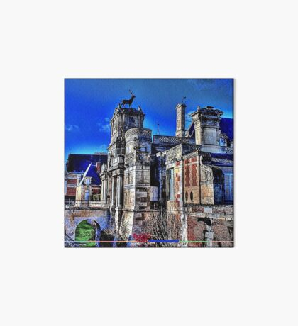 «Anet Castle | Anet Castle »- DDD B ^ ck [fx] by RootCat (square) Art Board Print