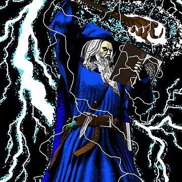 The Blue Wizard by SigilSorcery
