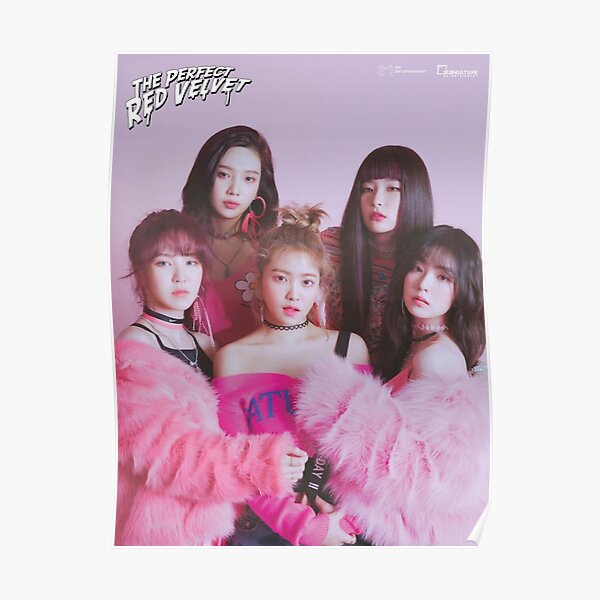 The Perfect Red Velvet Bad Boy Poster