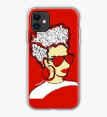 Strawberry Lady- Red iPhone Case