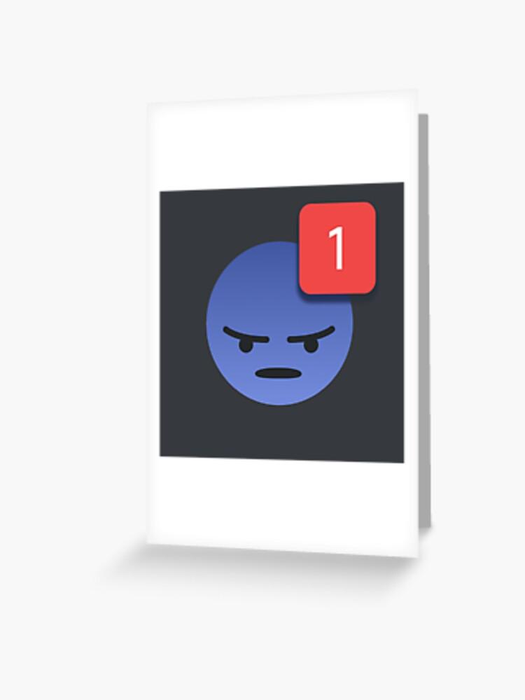 Discord Emoji Ping Meme | Greeting Card