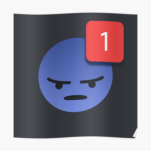 Discord Emoji Ping Meme Póster