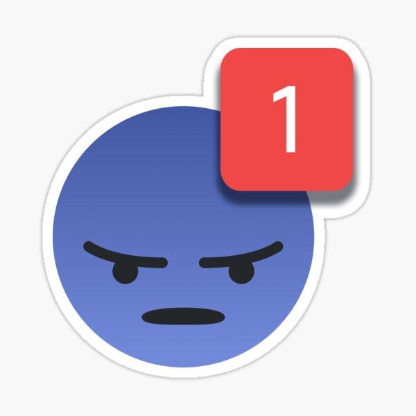 Discord Emoji Ping Meme Pegatina