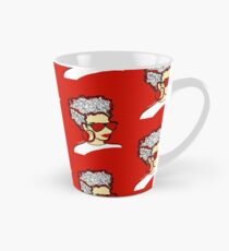 Strawberry Lady- Red Tall Mug