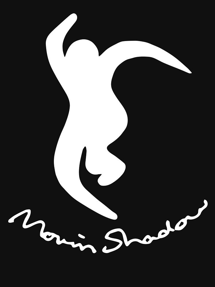 Moving Shadow Cursive Logo by kingasmo